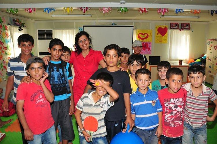 Kamplardaki Çocuk oyun odaları