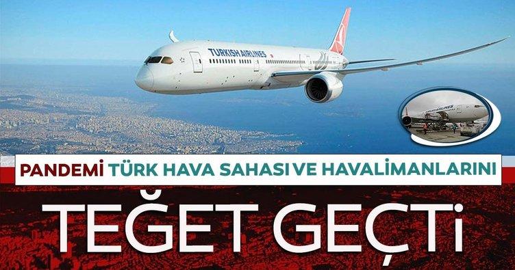 Pandemi Türk Hava Sahasını teğet geçti
