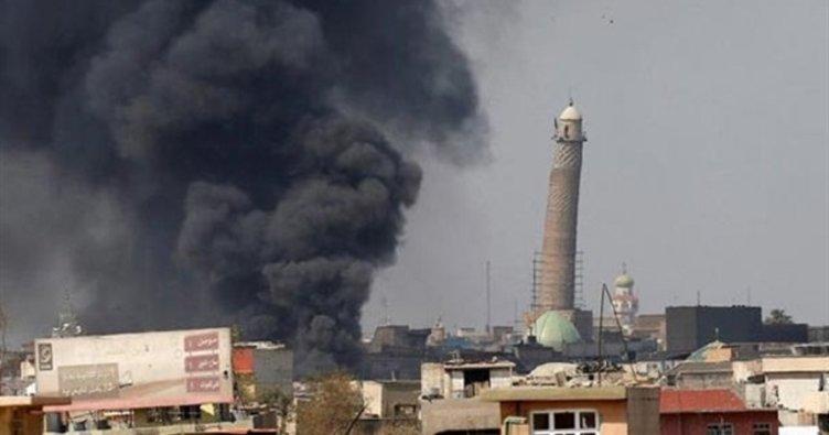 Irak güçleri, DEAŞ'ın patlattığı camiye girdi