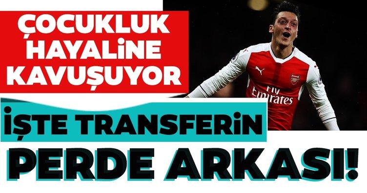 Son dakika: Fenerbahçe Mesut Özil'de sona geldi! İşte transferin perde arkası