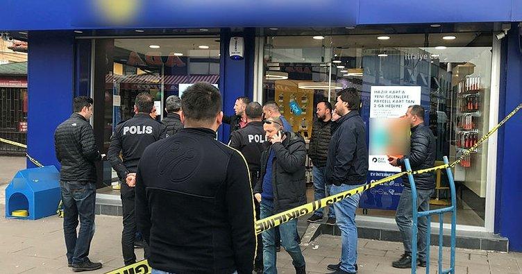 Telefon tarifesi tartışmasında 2 kadın çalışanı vurdu