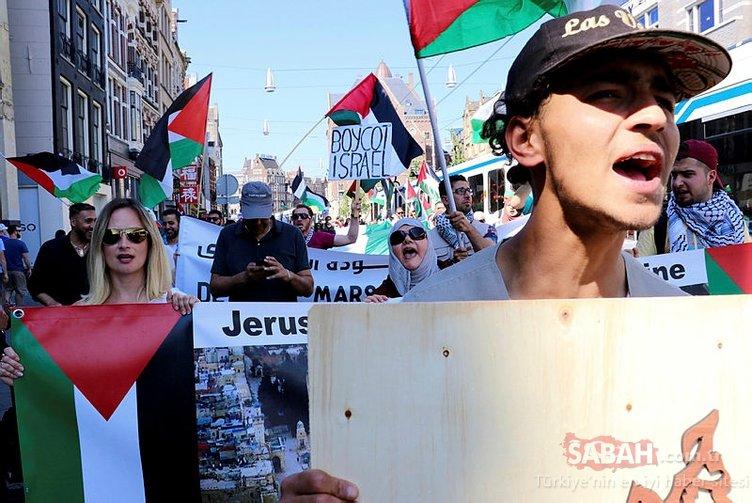Tüm dünya Filistin için ayakta