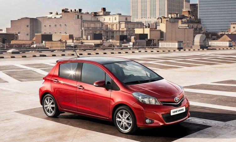 Toyota'nın yeni araçları Trabzon'da tanıtıldı