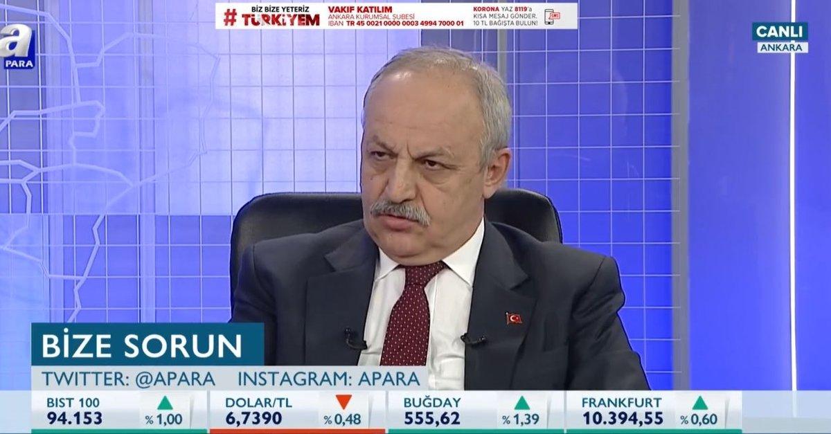 Bakan Yardımcısı Ahmet Erdem, kısa çalışma ödeneği hakkında tüm detayları A Para'ya anlattı