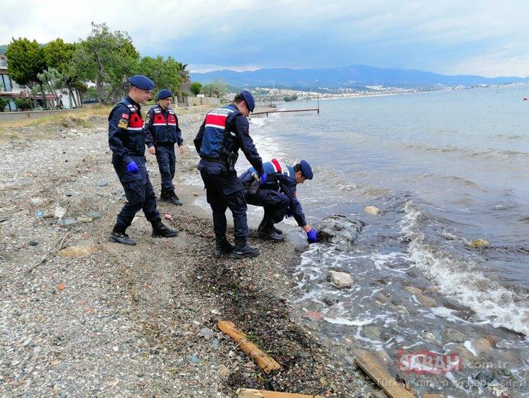 Ayvalık'ta uyuşturucu paketleri sahile vuruyor