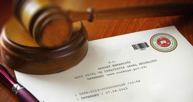 Adli sicil kaydı sorgulama - Online GBT işlemleri ve sorgulama