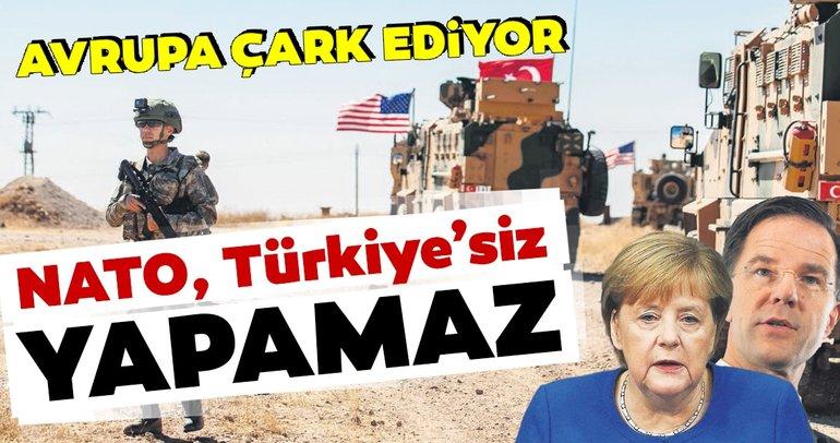 Avrupa çark ediyor:NATO, Türkiye'sizyapamaz