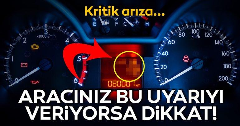Aracınız bu uyarıyı veriyorsa dikkat! Araç ikaz lambalarının anlamları nedir?