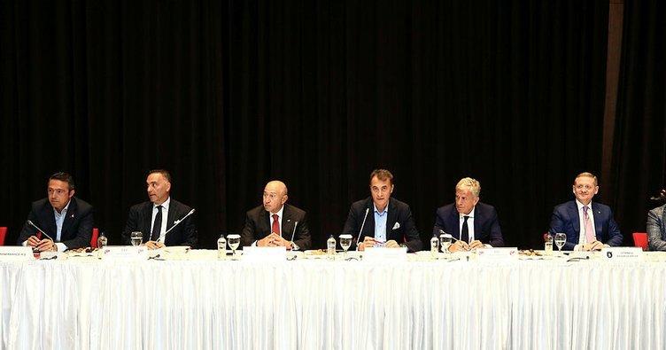 TFF-Kulüpler Birliği toplantısı başladı