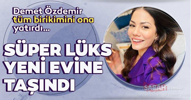 Doğduğun Ev Kaderindir'in yıldızı Demet Özdemir göz kamaştıran evine taşındı! Ünlü oyuncu tüm birikimini süper lüks villasına yatırdı!
