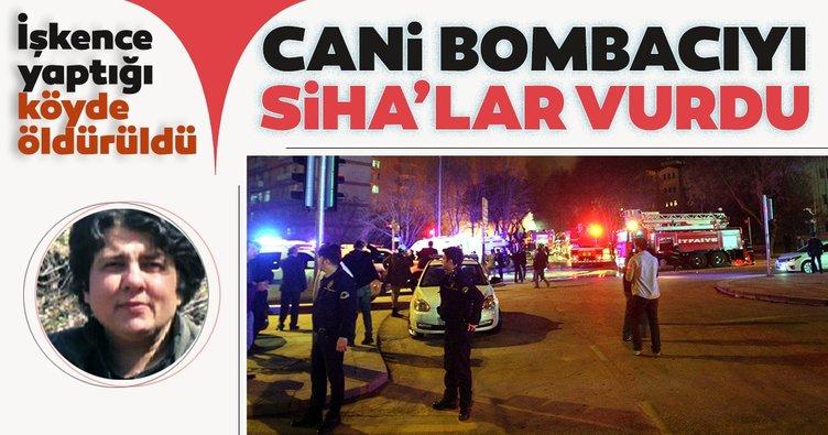 PKK'nın bombacısı SİHA ile vuruldu