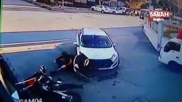 İstanbul'da yaşanan feci kazalar kamerada | Video