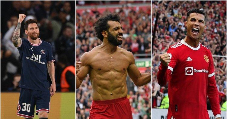 """Ronaldo ve Messi tartışmalarına bir yenisi daha eklendi! """"Mohamed Salah kadar…"""