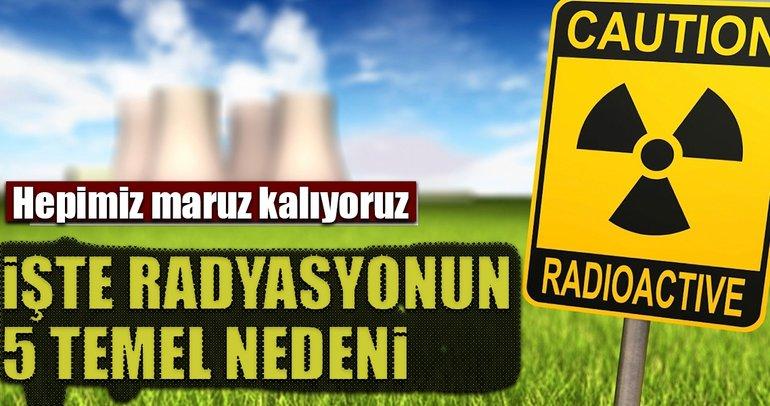 Günlük hayatımızdaki 5 radyasyon kaynağı