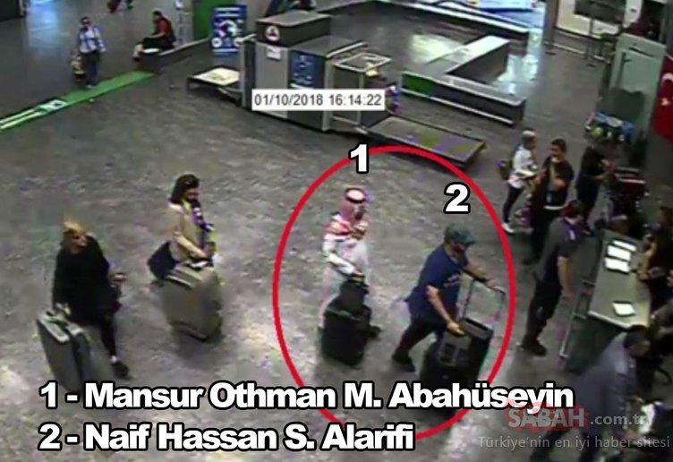 Son dakika... SABAH bombayı patlattı! İşte 'Cemal Kaşıkçı' infaz timinin görüntüleri