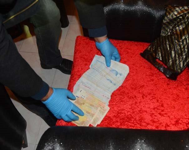 Adana'daki gasp ve uyuşturucu operasyonu