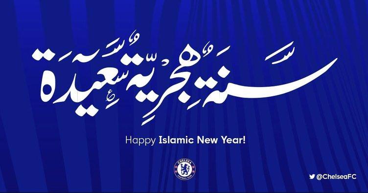 Chelsea, hicri yeni yılı kutladı