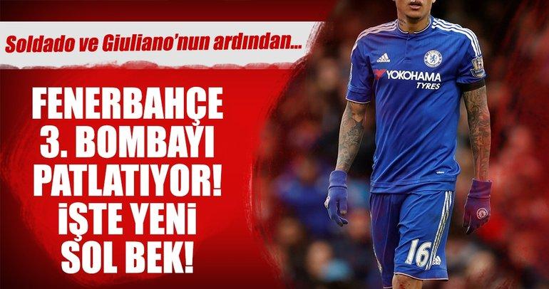 Fenerbahçe'de Soldado ve Giuliano'nun ardından 3. transfer de bitiyor!