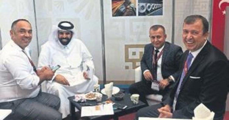 BAİB Katar'da pazar arayışında