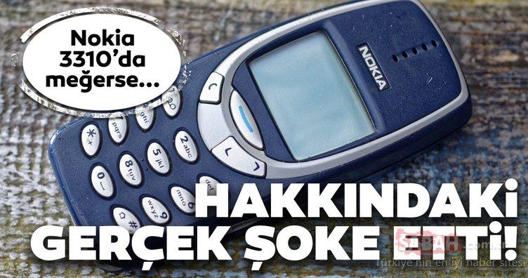 Nokia 3310 hakkındaki gerçekler şaşkına çevirdi!