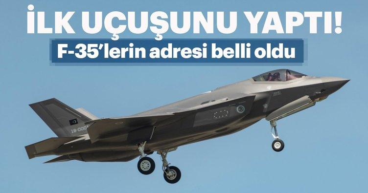 Son Dakika:F-35'lerin yeni yuvaları belli oldu!