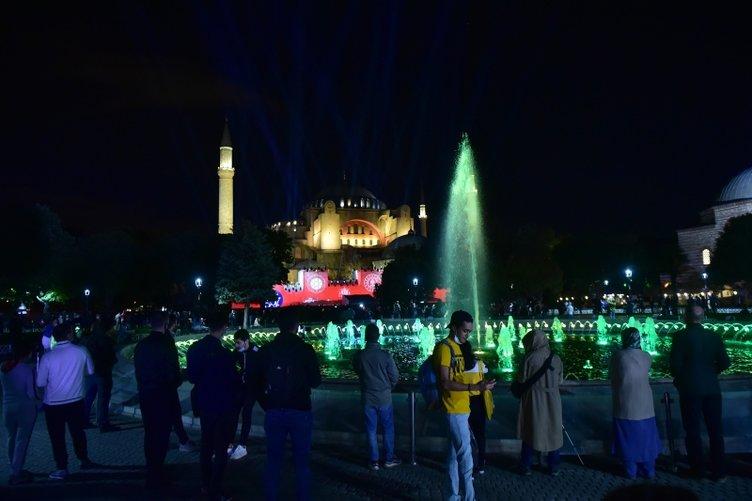 Ayasofya'da Fetih Şöleni