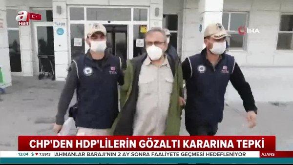 Son dakika...CHP'lilerden 6-8 Ekimolayları sebebiyle gözaltına alınan HDP'lilere destek | Video