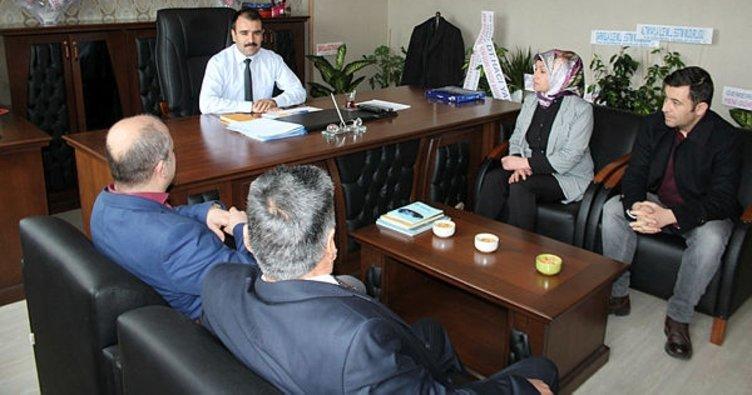 Gemerek İlçe Milli Eğitim Müdürü Çınar göreve başladı