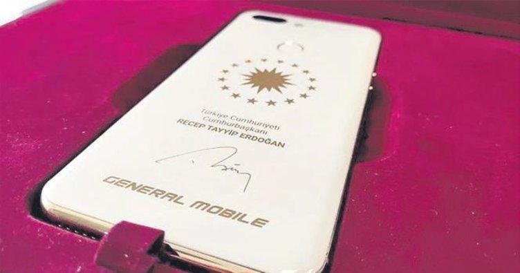 Generale Mobile'dan Erdoğan'a özel telefon