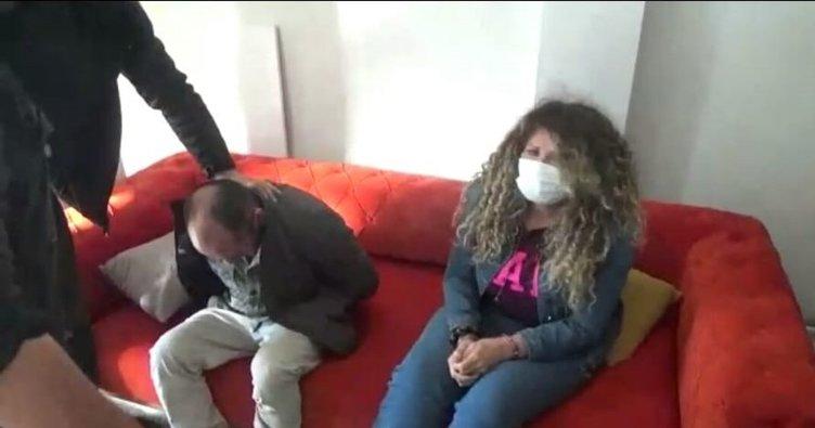 Kolombiyalı hırsızlık çetesinden, 22 milyon liralık vurgun