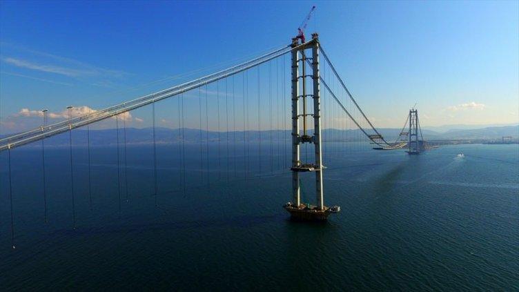 İzmit Körfezi Asma Köprüsü'nde sona doğru