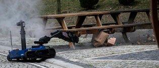 Yerli ve milli bomba imha robotu 'Ertuğrul' görev başında