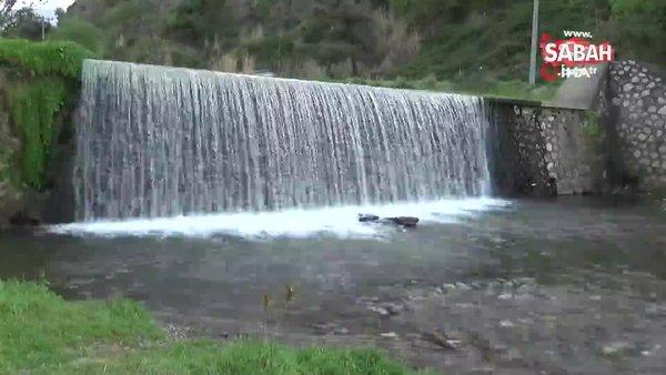 Manisa'da ATV motoru şelaleden uçtu   Video