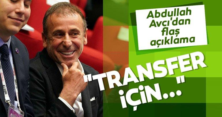 Abdullah Avcı'dan transfer açıklaması