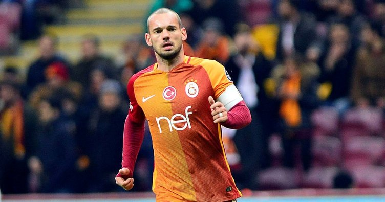 Süper Lig'in asist kralı: Wesley Sneijder