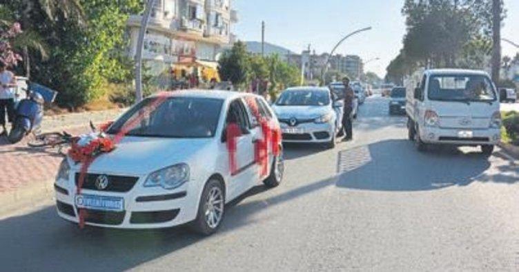Gazipaşa'da kaza: 1 kişi yaralandı