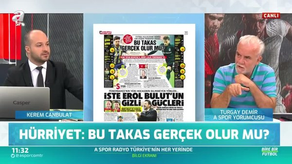 Beşiktaş ve Fenerbahçe arasında sürpriz takas! Canlı yayında açıkladı