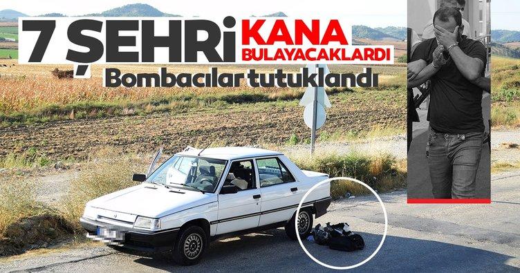SON DAKİKA! Adana'da yakalanan bombacılar tutuklandı