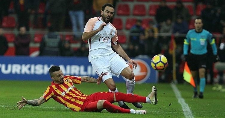Galatasaray ile Kayserispor 45. randevuda