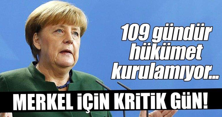 Almanya'da Merkel için kritik gün!