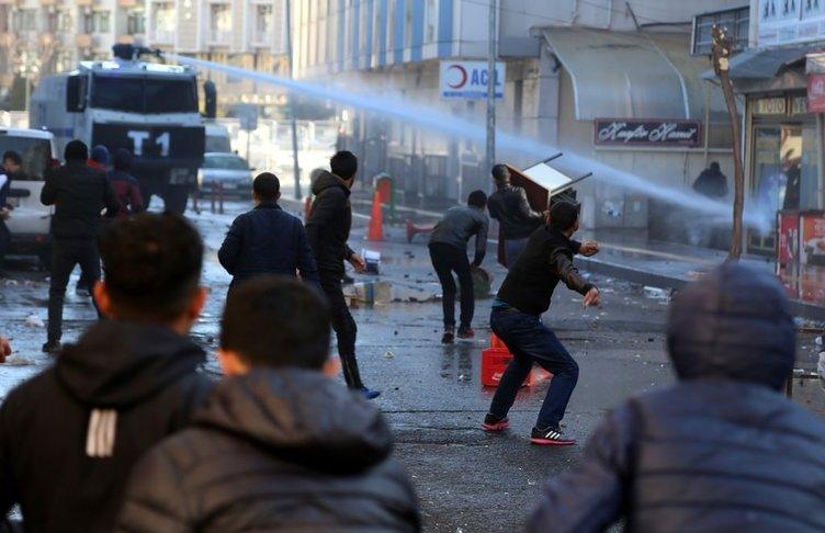 Diyarbakır'da izinsiz gösteri