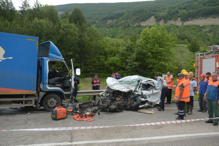 Sinop'ta feci kaza: 2 üniversite öğrencisi yaşamını yitirdi
