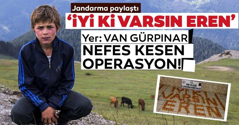 Jandarma'dan 'EREN' operasyonu: Uyuşturucu tacirlerine darbe
