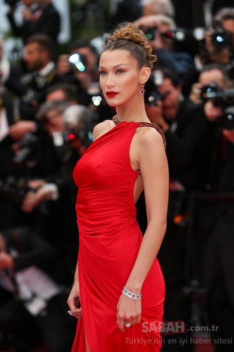 72'nci Cannes Film Festivali'ne Bella Hadid damgası!