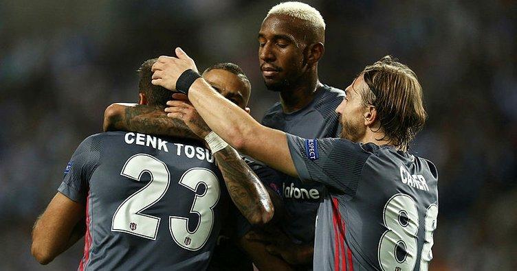 Beşiktaş, Porto'ya acımadı! Porto 1-3 Beşiktaş maç özeti