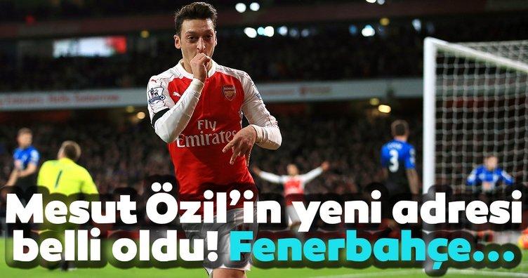 Mesut Özil'in Yeni adresi belli oldu! Fenerbahçe...