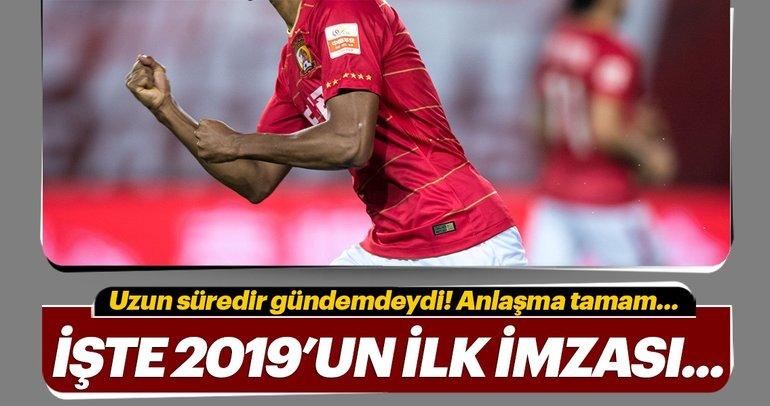 2019'un ilk imzası! Transfer...