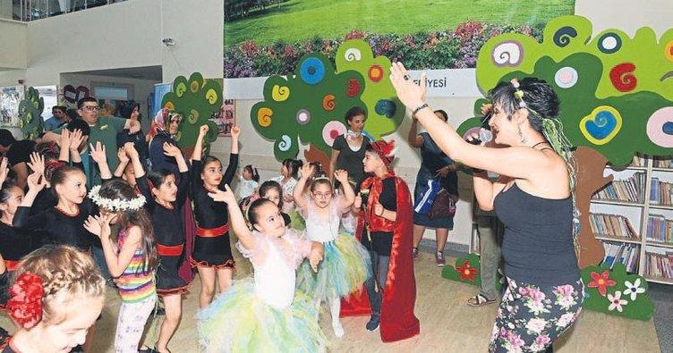 Özel çocuklardan bahar partisi