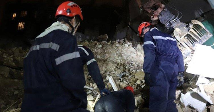 Fransa'da çöken iki binanın enkazından 6 kişinin cesedi çıkarıldı