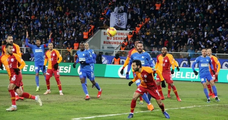 Galatasaray'dan Erzurum'da kritik kayıp